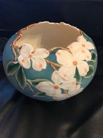 Mint Franz Porcelain Rose Bowl