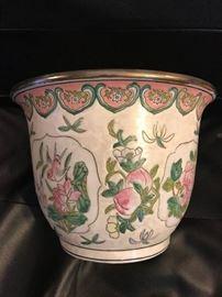 Antique Chinese Planter Bowl- Tongzhi Period