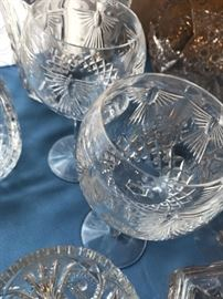 Pair Waterford Goblets