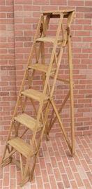 Antique Pine Ladder
