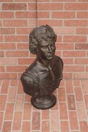 Austin sculpture composition bust