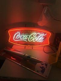 COKE NEON SIGN
