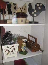 Just some of the many primitives and other fine items