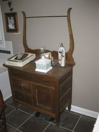 antique dresser.