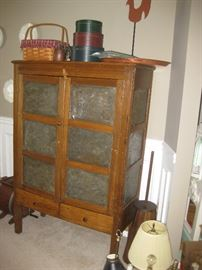 Incredible old pie safe