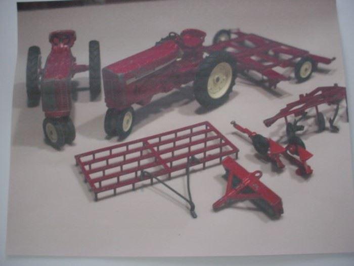 Old farm toys