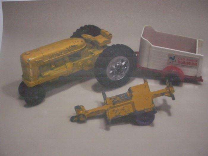 Hubley farm toys