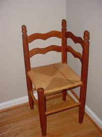 """Great corner """"gossip chair"""""""