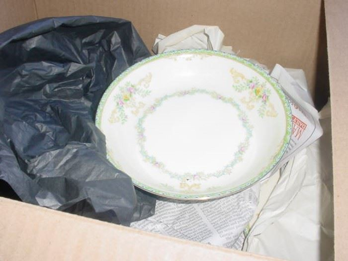 "Royal Doulton ""Cornet"" pattern china set, and several others"