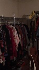 TONS OF CLOTHING AND SHOES