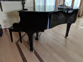 $3,995  Young Chang black lacquer piano