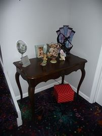 Side Table and Figurines