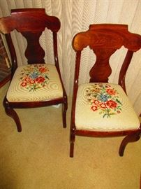 Pair of Antique Chairs Ca. 1860