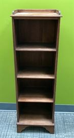 Vintage Small Shelving Unit w/ Gallery Top