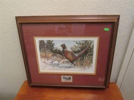 Assorted Framed Art Pieces