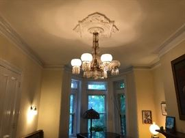 Period crystal Chandelier