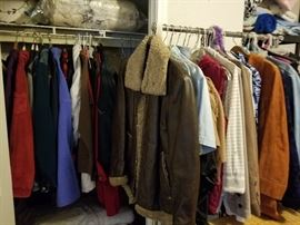 Clothes (Jacket The Leather Shop 38 Reg Sears)