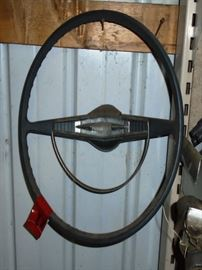60 Chevy Steering Wheel