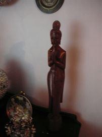 Nice Wooden Budda sculpture