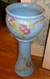 Art Pottery Jardinière & Pedestal