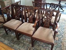 10 Maitland Smith Chairs