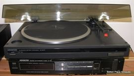Kenwood Turntable working