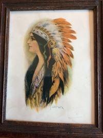 Warrior Woman Print