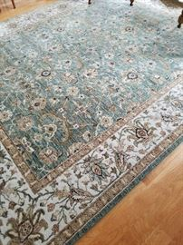Matching rugs.  Living and dining!  Perfect condition.  Both 8 x 10. Non smoking and non pet home.