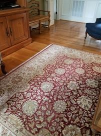 Amazing rugs.  From smoke free pet free home. Size 8 x10