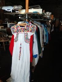 Vintage and modern clothing and accessories