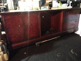 Long credenza/ stand for a big TV