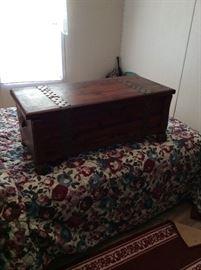 Nice old cedar chest