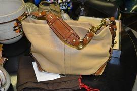 Authentic Coach handbag with dust bag
