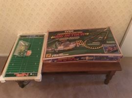 Vintage games, coffee table