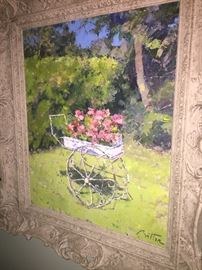 Pierre Bittar painting - certification/appraisal  included - another one will also be available - picture to come :)
