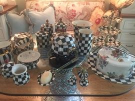 Makenzie Childs - housewares - EXTENSIVE COLLECTION