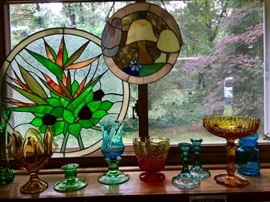 Glassware in a variety of colors!