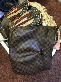 Louis Vuitton Handbag, Dan Post Americana Cowgirl Boots