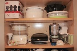 Kitchenware and Small Kitchen Appliances