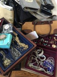 Costume Jewelry and Designer Handbags