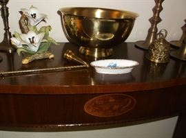 Console table w/inlay