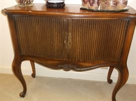 Two door console table