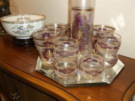 Beverage set and Wedgewood bowl