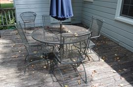 Another Wrought Iron Patio Set
