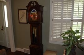 Grandmother clock....running and ready