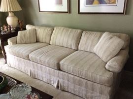 Love Seat and Sofa by Bridgeford