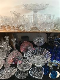 Antique and collectible glassware