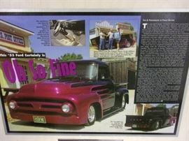 Award winning 1953 Ford Truck graced the cover of Hot Rod Magazine - Price to be determined. Needs a few things will list next week.