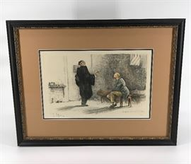 Gaston Hoffman Signed Artist's Proof #1  http://www.ctonlineauctions.com/detail.asp?id=734692