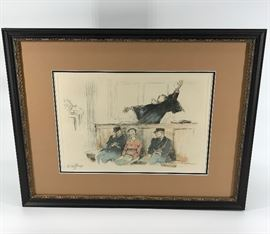 Gaston Hoffman Signed Artist's Proof #2  http://www.ctonlineauctions.com/detail.asp?id=734693